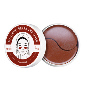 Гидрогелевые патчи под глаза Shangpree Ginseng berry eye mask (60штук)