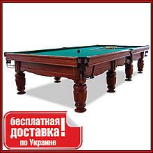 Більярдний стіл Віват снукер 11 футів Ардезія 3.2 м х 1.6 м з натурального дерева