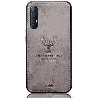 Чехол Deer Case для Oppo Reno 3 Pro Grey
