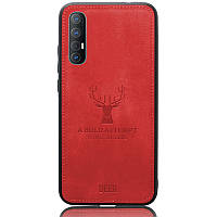 Чехол Deer Case для Oppo Reno 3 Pro Red
