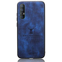 Чехол Deer Case для Oppo Reno 3 Pro Blue