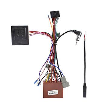 ISO адаптер Lesko для Mazda CX-7 2011-2019гг. + CAN BUS фишка мазда