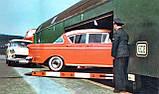 Модель 2х этажного вагона для перевозки автомобилей, принадлежности DB, масштаба 1:87,H0 арт. Heris 11201, фото 8