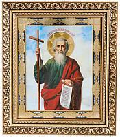 Ікона «святий Апостол Андрій Первозванний» (багет,26х22)