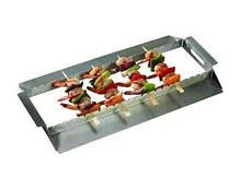 Підставка для шампурів з високоякісної нержавіючої сталі 35 х 25 х 5 см GrillPro 92339