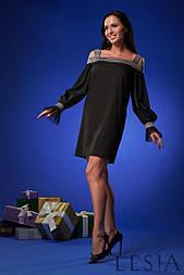 Ошатне жіноча сукня прямого силуету в романтичному стилі lesya Нісса 6