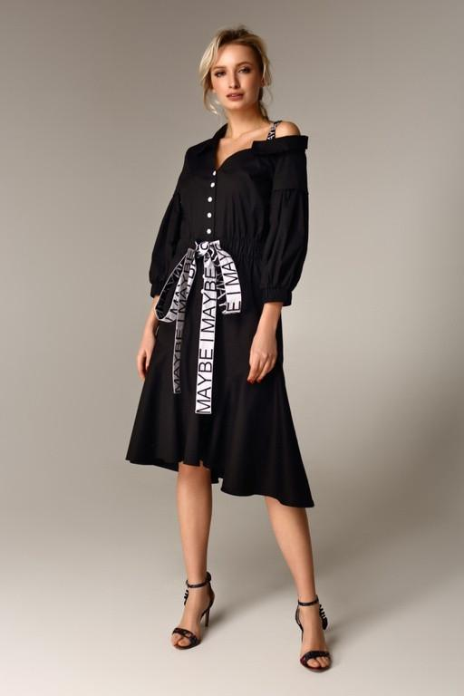 Дизайнерське плаття з бавовни Raslov 113