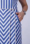 Довге плаття в смужку Tell 6791, фото 4
