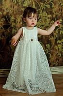 Платье нарядное с кружевом  Eskoberry 1301