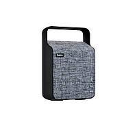 Портативная колонка Hoco BS6 NUOBU DESKTOP Bluetooth speaker (Серая)