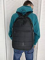 Городской мужской черный рюкзак Under Armourдля повседневной ходьбы сумка для тренажёрного зала