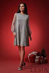 Нарядное женское платье силуэта трапеция Lesya Нисса 4