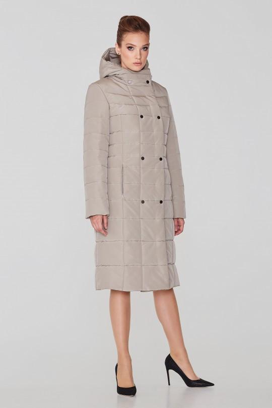 Женское зимнее плащевое пальто Elvi  С 59