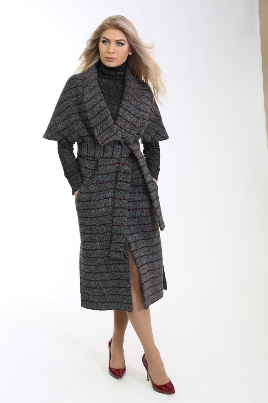 Демісезонне пальто-жилет з букле Ricco Угорщина