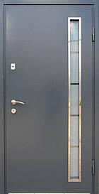 Двері REDFORT Метал-МДФ з склопакетом оптіма+