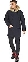 Куртка – воздуховик зимовий чоловічий колір темно-синій модель 45062
