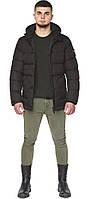 Стильная куртка на мужчину зимняя цвет шоколад модель 27544, фото 1