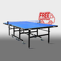 Теннисный стол для помещений «Феникс» Master Sport M25 синий