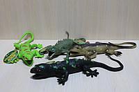 Животные резиновые Крокодилы в коробке 27*20*6 см