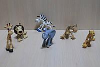 Животные дикие в пакете 16 см