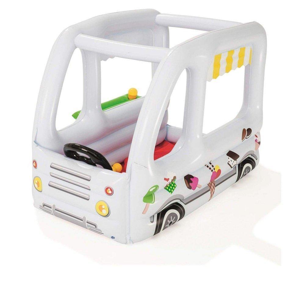 Надувний ігровий центр Bestway «Фургон з морозивом» 122х84х84 см (52268)