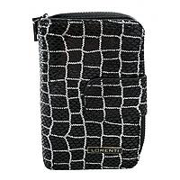 Жіночий шкіряний гаманець маленький Lorenti 76115-YBS-RFID чорний, фото 1