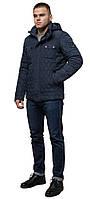 Стильная куртка для зимы мужская светло-синяя модель 1698, фото 1