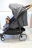 Прогулянкова коляска для двійні CARRELLO Connect CRL-5502, Ink Gray, фото 10