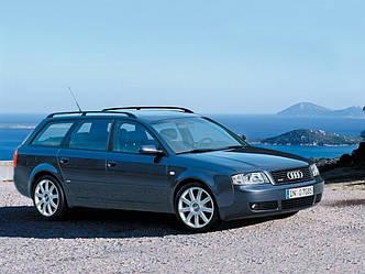 Автомобільні килимки ЕВА ромбами в салон Audi A6 2002