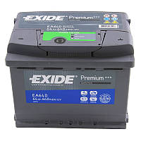 Аккумулятор 64Ah-12v Exide PREMIUM EA640(242х175х190),R,EN640