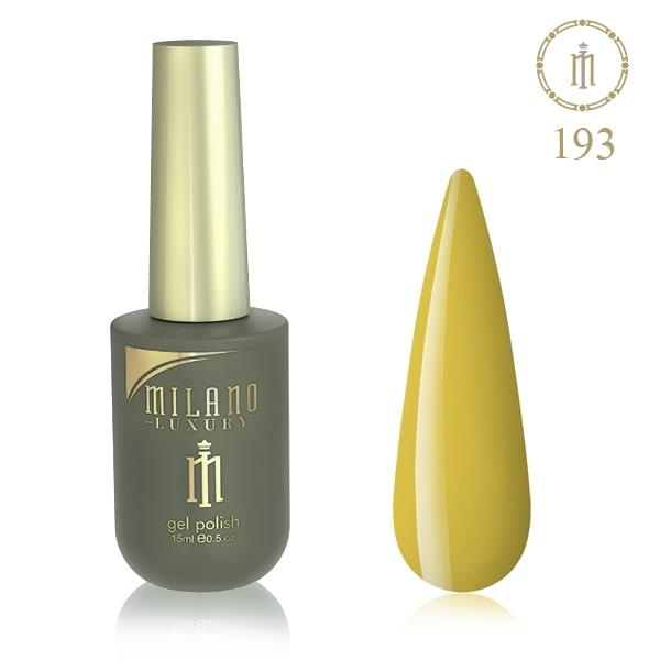 Гель лак MILANO LUXURY 15 мл № 193 (Золотисто-березовий)