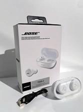 Беспроводные bluetooth-наушники BOSE TWS 2 с кейсом, white