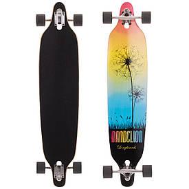 Лонгборд Бордволкинг (скейтборд в сборе) 104x22,5см LY-5362