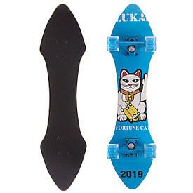 Скейтборд лонгдистанс (Лонгборд в сборе) LUKAI 78ч12х20см SK-1249-3