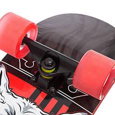Скейт у зборі (роликова дошка) Вовк SK-1246-4, фото 3