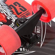 Скейт у зборі (роликова дошка) Вовк SK-1246-4, фото 2