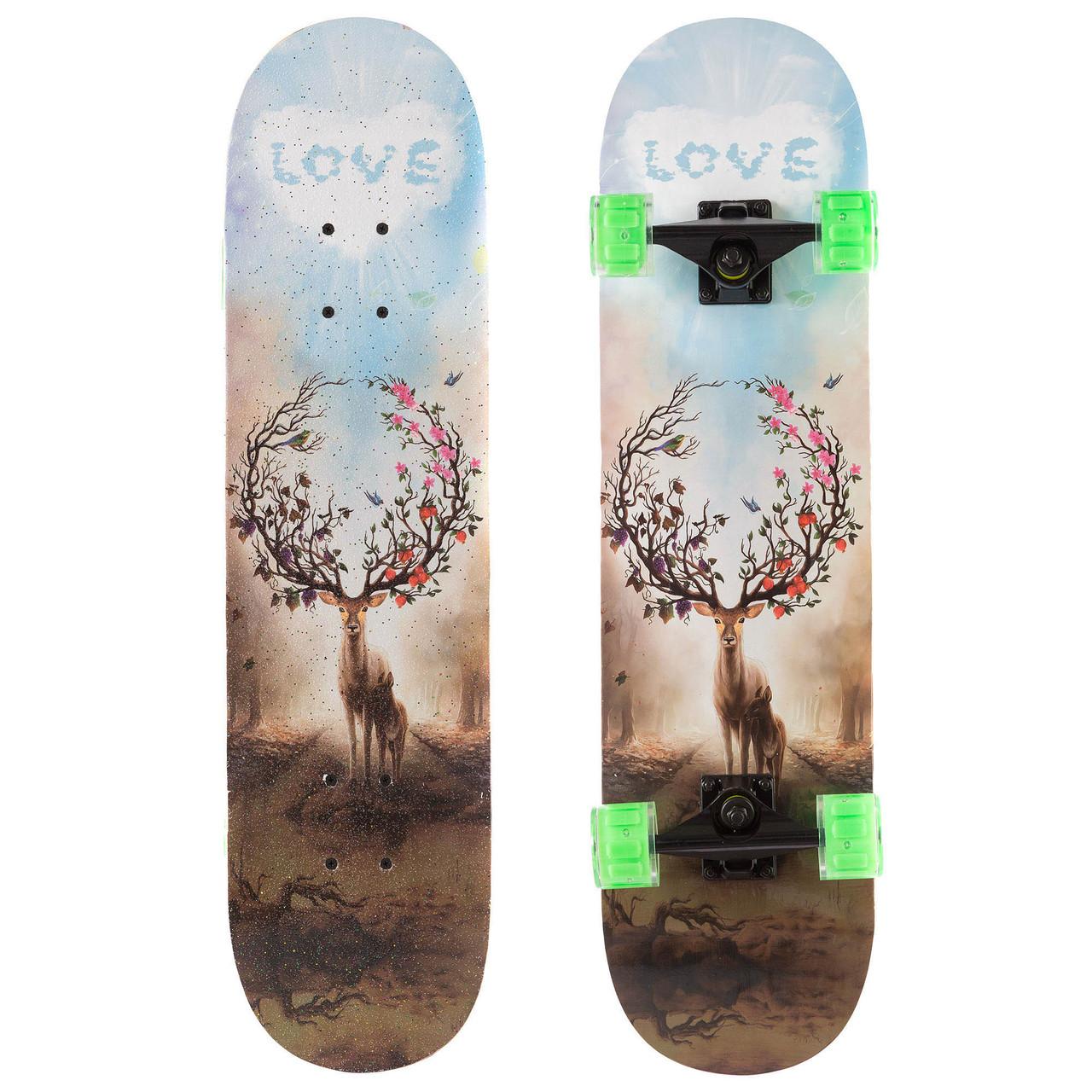 Скейт класичний з малюнком Олень SK-1248-5