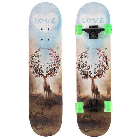 Скейт класичний з малюнком Олень SK-1248-5, фото 2