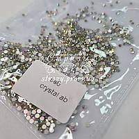 Стразы для ногтей ss6 crystal AB 1440шт. (1.9-2.0мм)