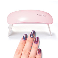 УФ лампа для сушки ногтей, гель-лака UV LED SUN mini, ультрафиолетовая мини LED (лед) лампа для маникюра