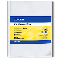 Файл для документов А4+ 30 мкм глянец (100 шт./уп.) E31106