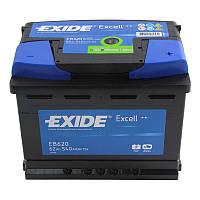 Аккумулятор 62Ah-12v Exide EXCELL EB620(242х175х190),R,EN540, фото 1