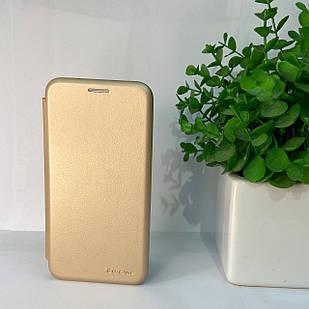 Чехол-книжка Samsung J320 золотой