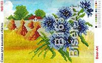 """Схема картини  """"Квіти"""" №В163"""