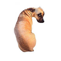 Мягкая игрушка подушка собака 3D