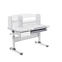 Комплект для школьников парта Cubby Rimu Grey + эргономичное кресло FunDesk Cielo Grey, фото 3
