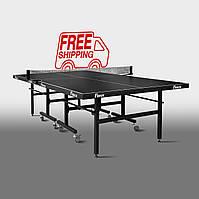 Теннисный стол для помещений «Феникс» Master Sport M16 черный