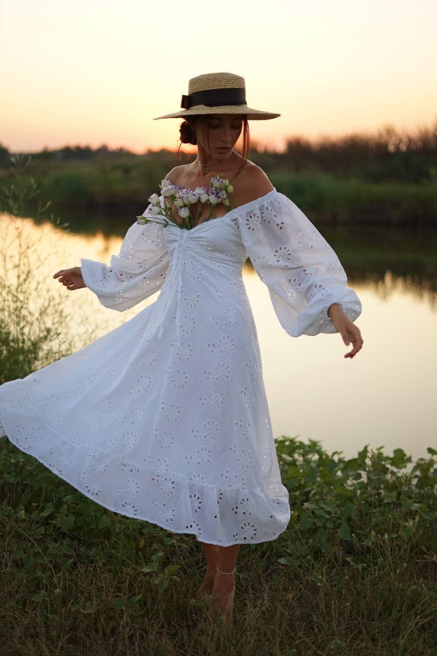 Женское платье хлопок 2536