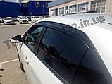 Ветровики, дефлекторы окон Toyota Corolla 2013- (Autoclover), фото 4