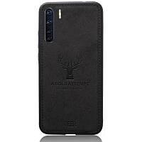 Чехол Deer Case для Oppo A91 Black